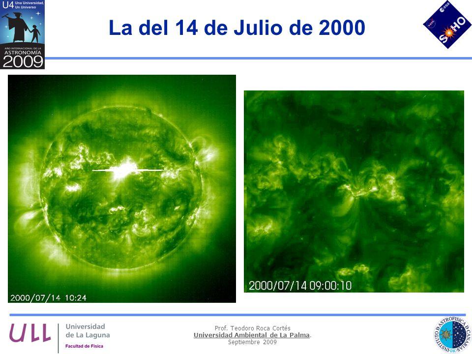 Prof. Teodoro Roca Cortés Universidad Ambiental de La Palma. Septiembre 2009 La del 14 de Julio de 2000