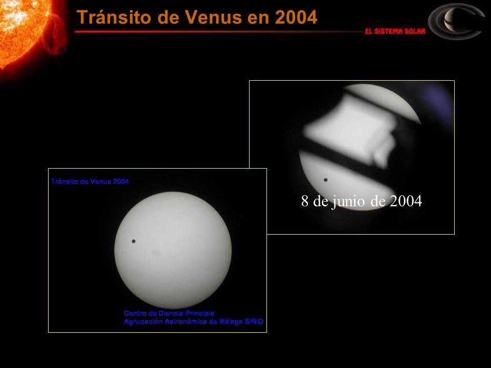 8 de junio de 2004 Tránsito de Venus en 2004