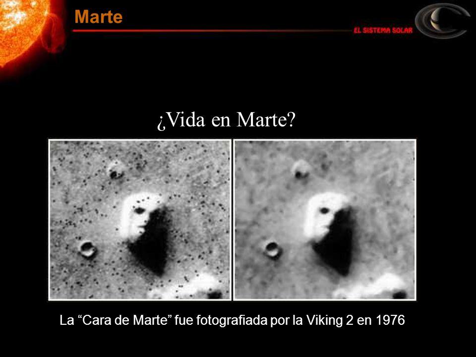 ¿Vida en Marte? La Cara de Marte fue fotografiada por la Viking 2 en 1976 Marte