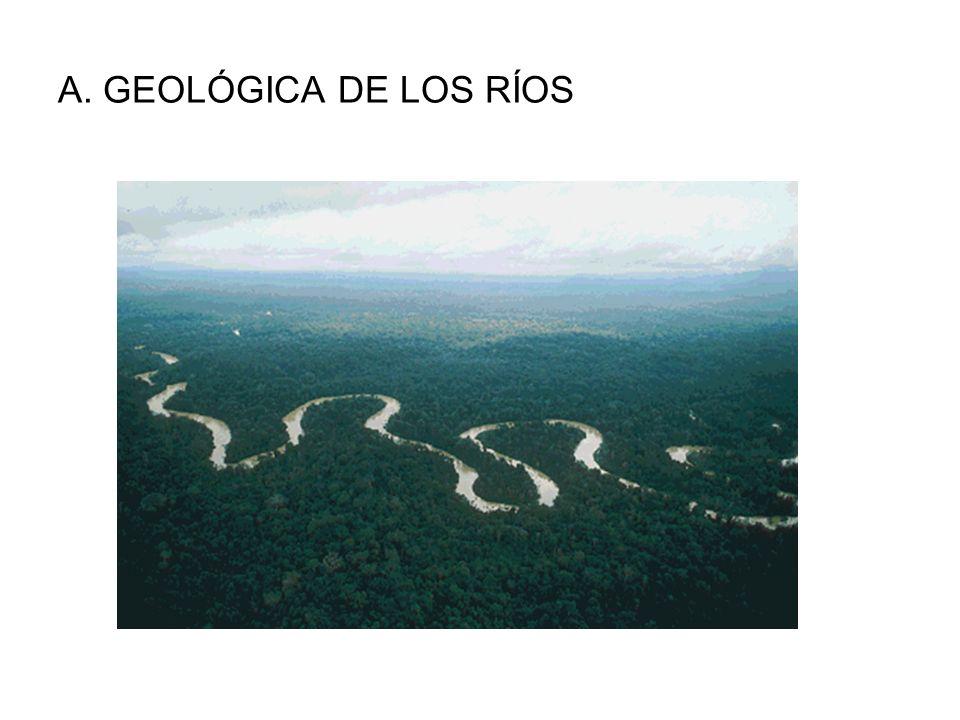 A. GEOLÓGICA DE LOS RÍOS