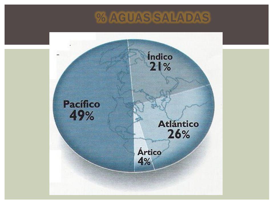 Océanos Pacífico Atlántico Indico G.Antártico G.