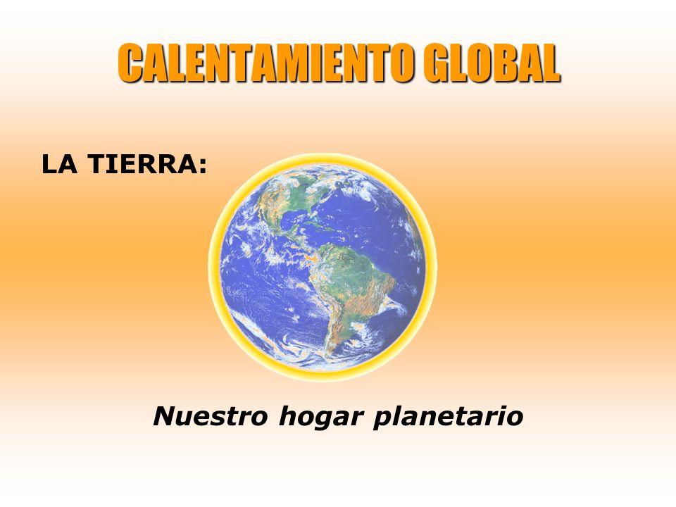 CALENTAMIENTO GLOBAL LA TIERRA: Nuestro hogar planetario