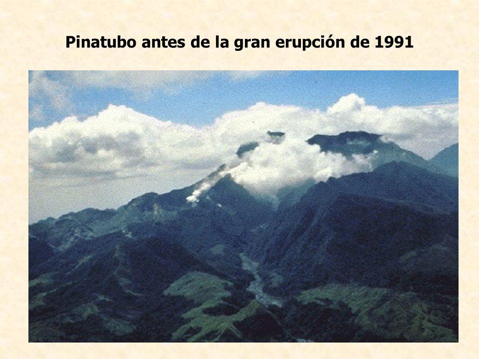 Pinatubo antes de la gran erupción de 1991