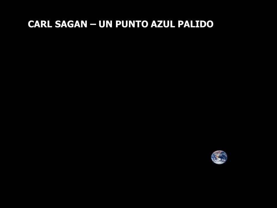 CARL SAGAN – UN PUNTO AZUL PALIDO