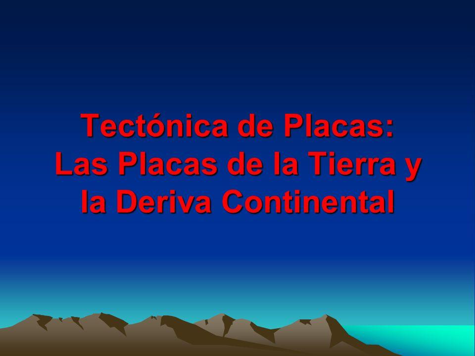 Tectónica de Placas: Las Placas de la Tierra y la Deriva Continental