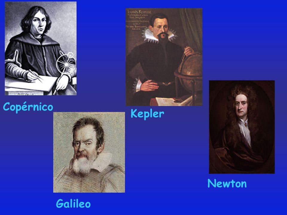 Copérnico Kepler Galileo Newton