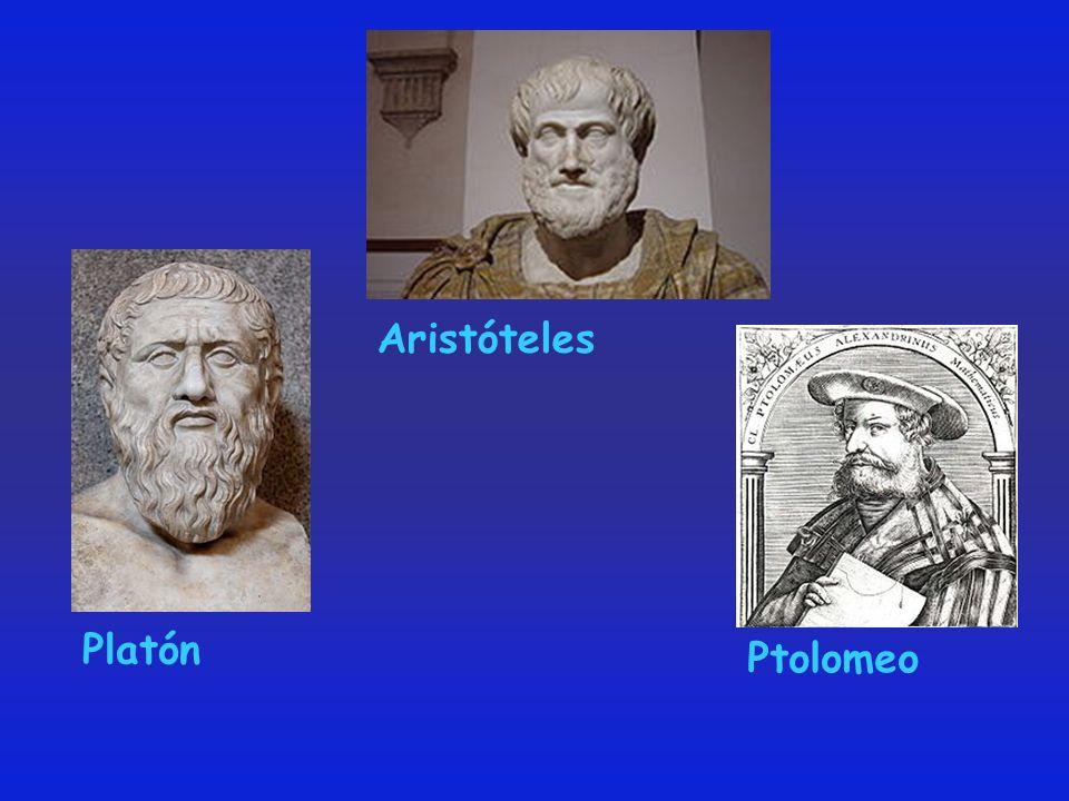 Platón Aristóteles Ptolomeo