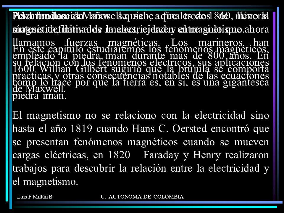 Luis F Millán BU.