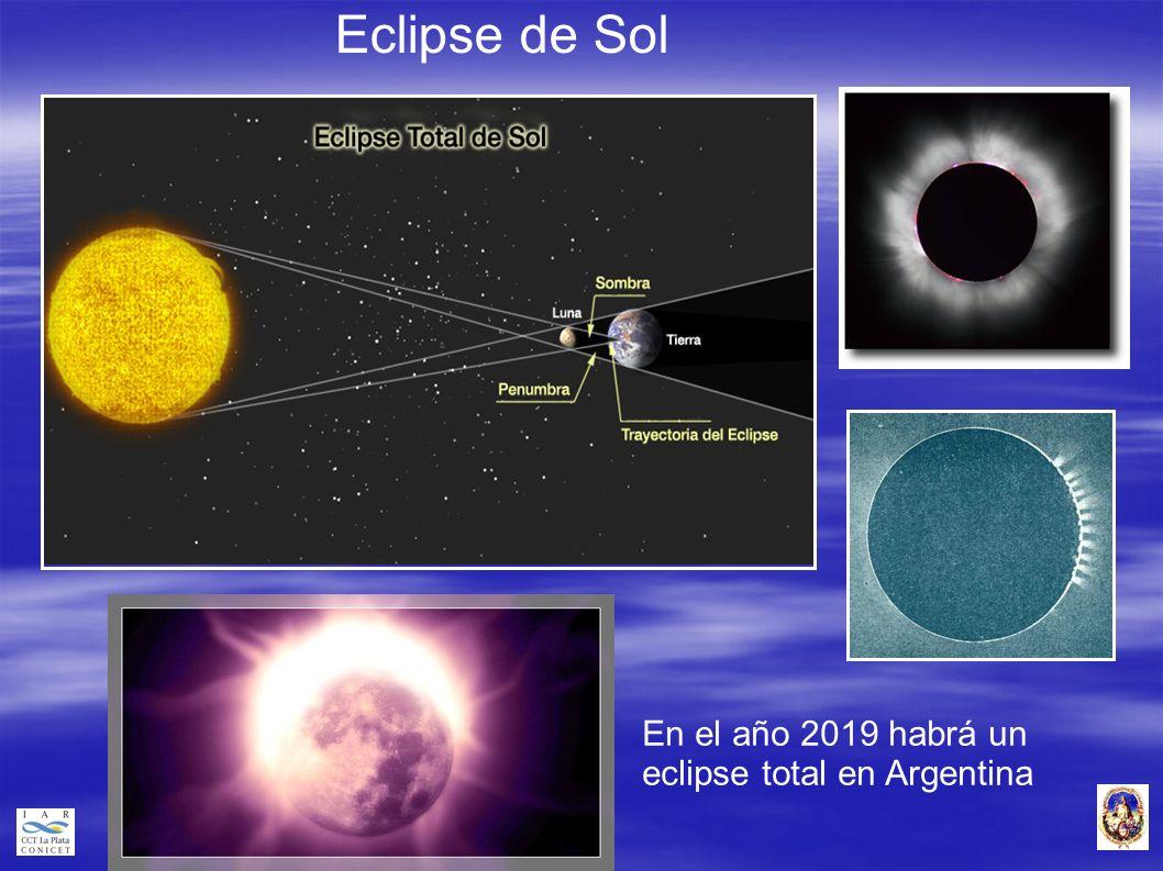 Eclipse de Sol En el año 2019 habrá un eclipse total en Argentina