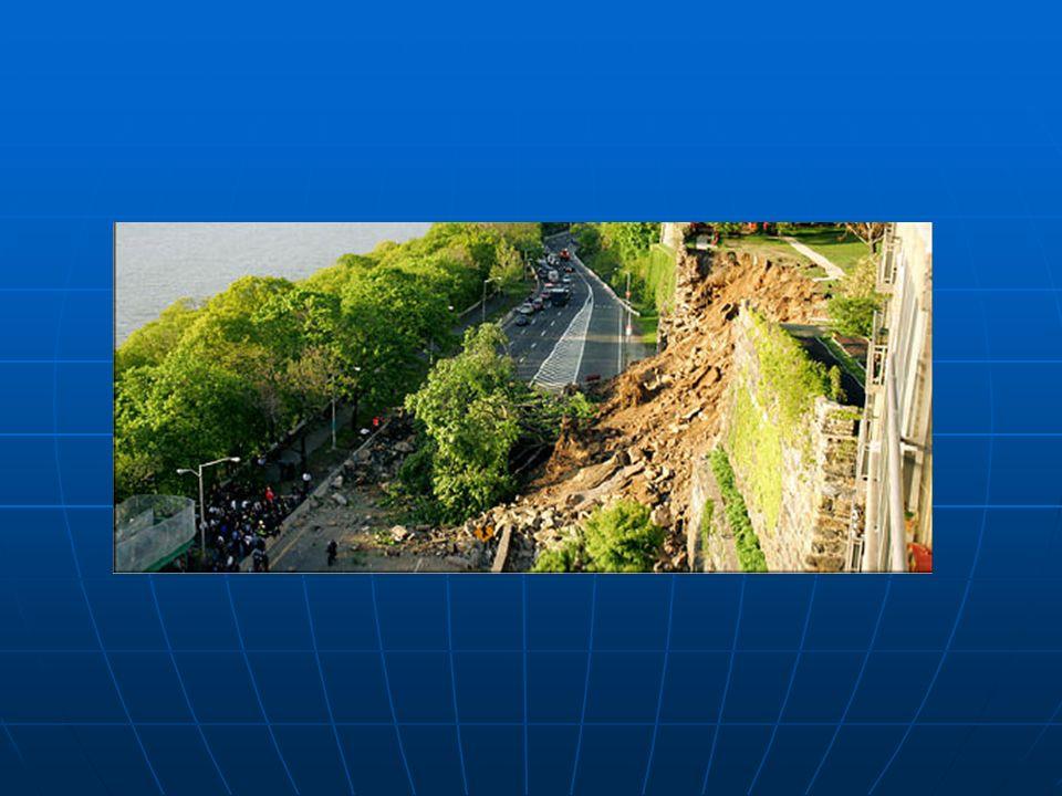 EMPUJES DE TIERRA Se define el empuje de tierras como la acción que ejerce el terreno situado en el trasdós de un muro, sobre este y su cimentación.