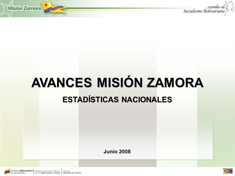 LUCHA CONTRA EL LATIFUNDIO 2003 - 08 REGULARIZACIÓN DE LA TENENCIA Y USO DE LA TIERRA 2003 - 08 N° DE UNIDADES PRODUCTIVAS REGULARIZADAS 101.594 TOTAL DE HECTÁREAS 4.380.146,8522 N° DE PREDIOS BAJO RESCATE 780 TOTAL DE HECTÁREAS 1.907.749,8862