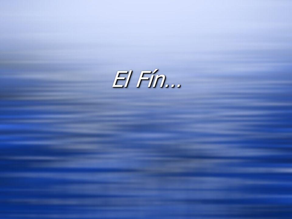 El Fín… El Fín…