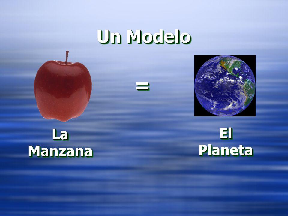 = = La Manzana El Planeta Un Modelo