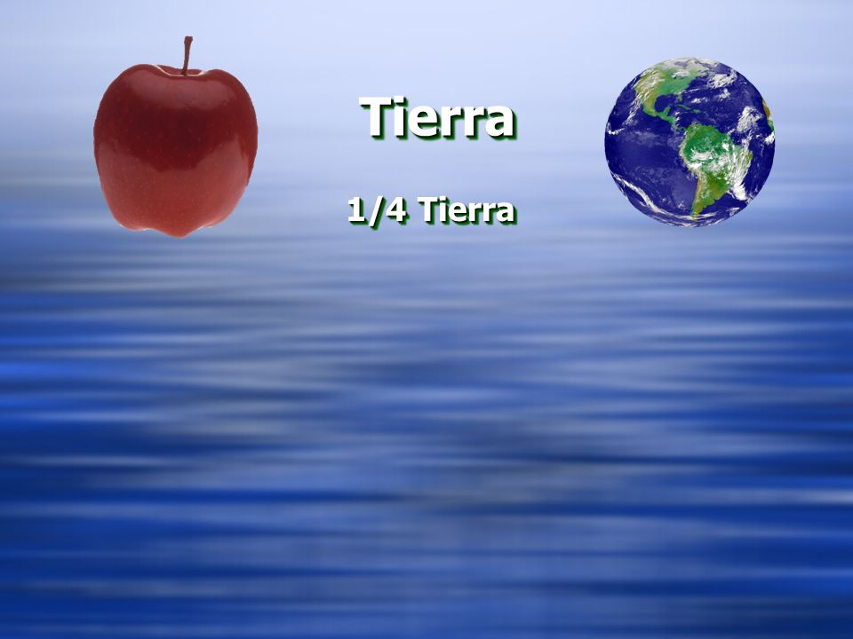 TierraTierra 1/4 Tierra