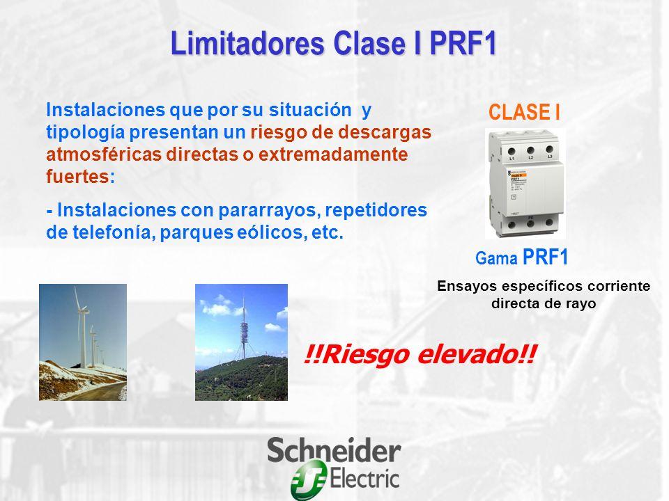 Limitadores Clase II PRD Cartuchos desenchufables Señalización del estado del limitador(PRD) Auxiliares de señalización a distancia Contacto seco de s