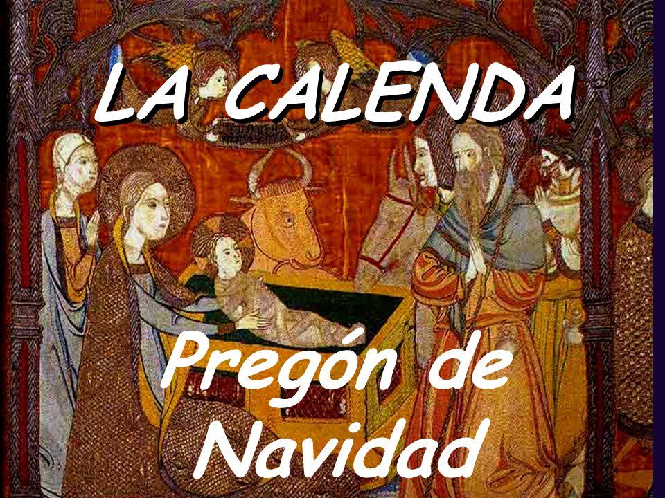HOY EN LA TIERRA NACE EL AMOR, HOY EN LA TIERRA NACE DIOS.