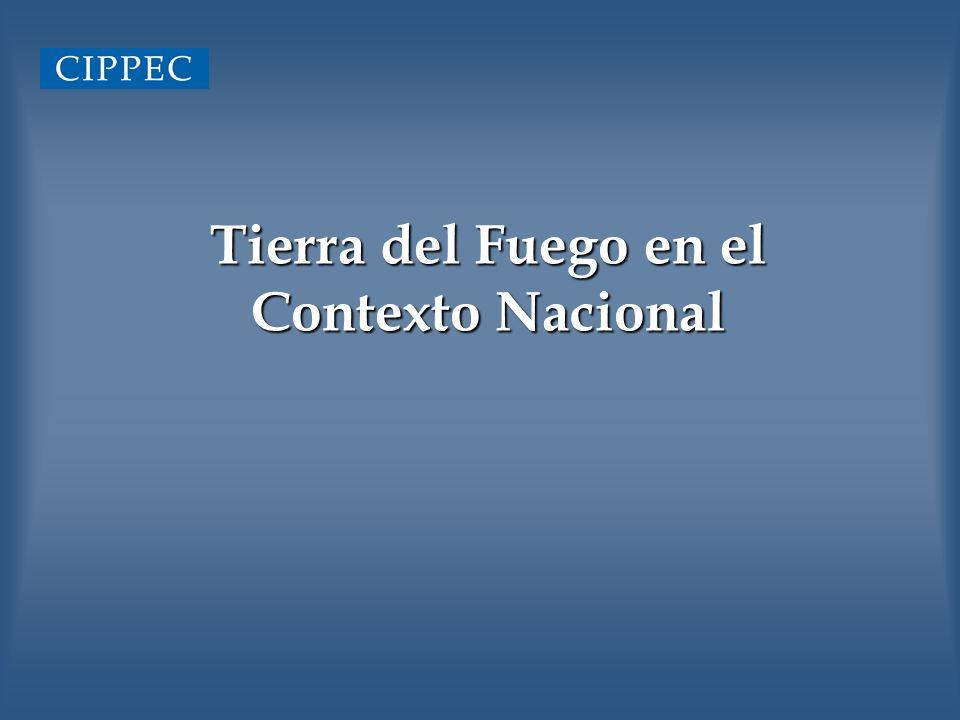 Tierra del Fuego en el Contexto Nacional