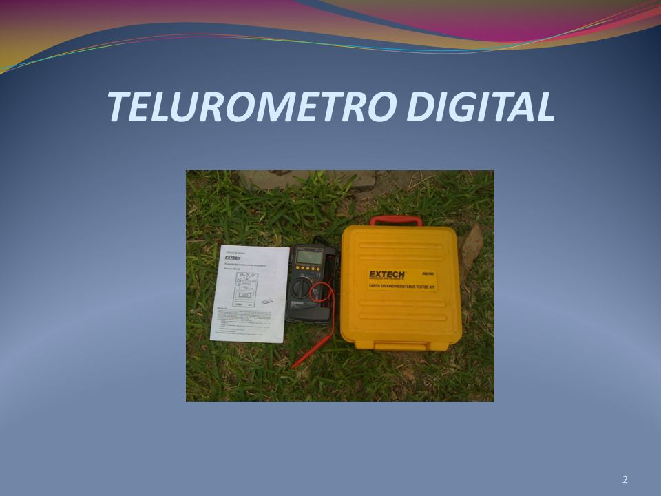 TELUROMETRO DIGITAL 2