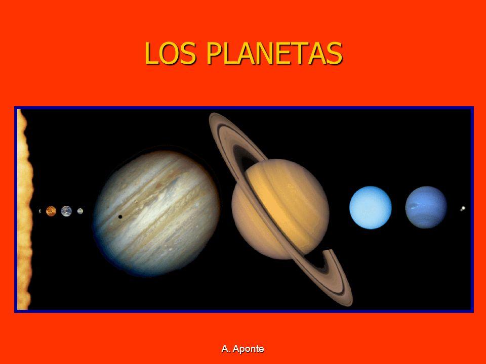 A. Aponte LOS PLANETAS