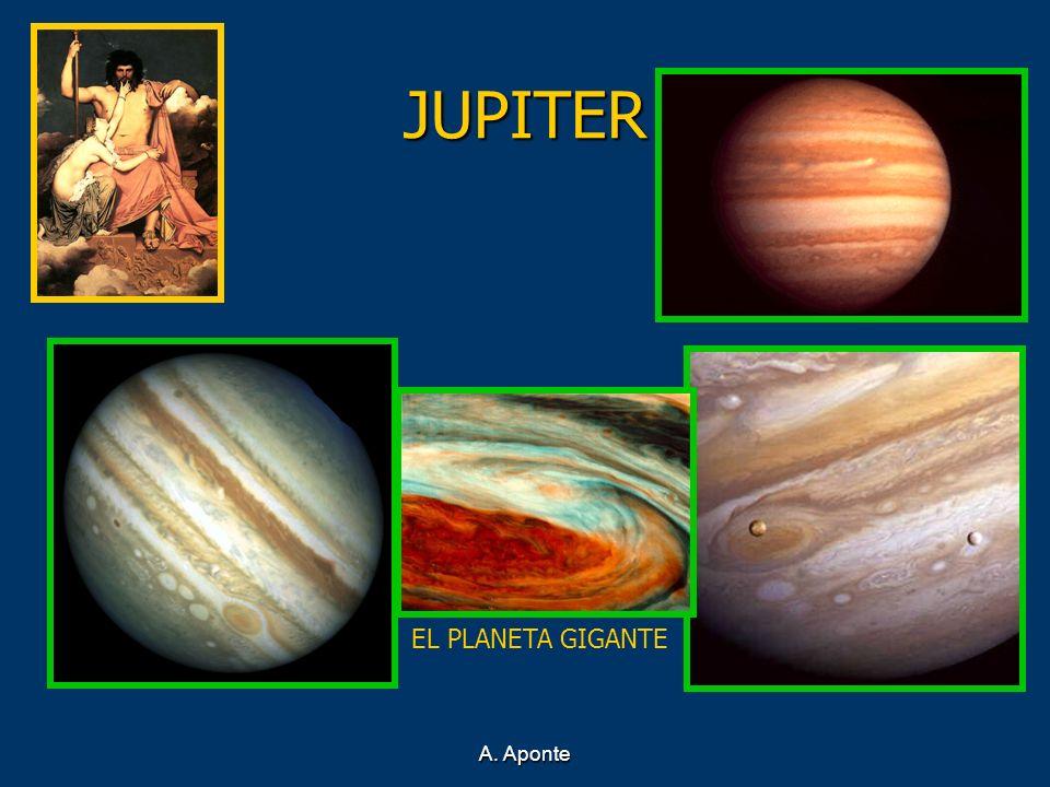 A. Aponte JUPITER EL PLANETA GIGANTE