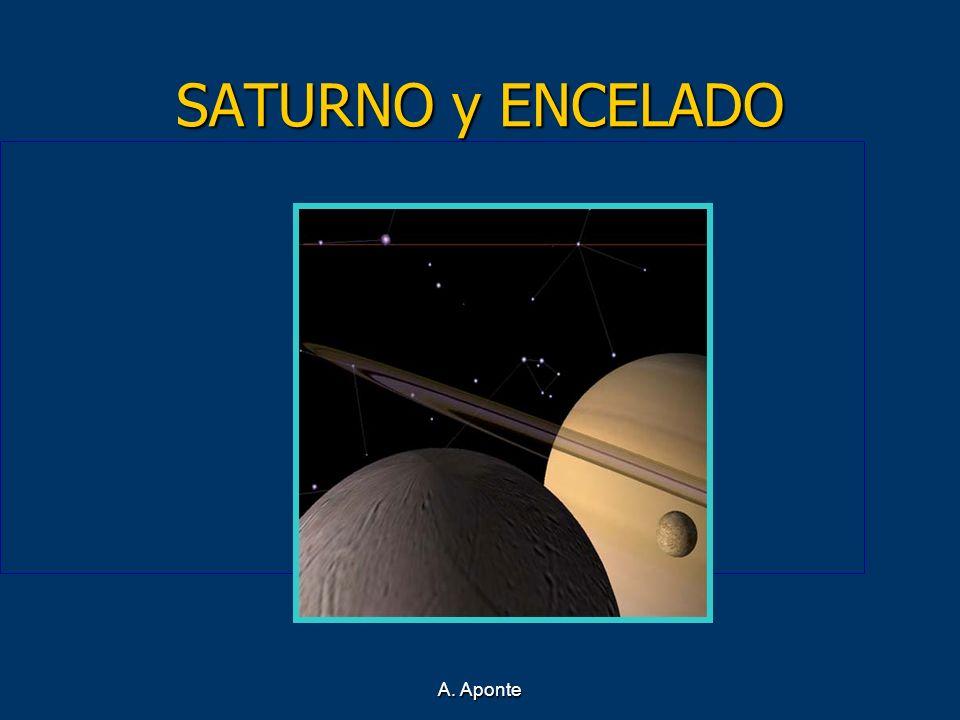 A. Aponte SATURNO y ENCELADO