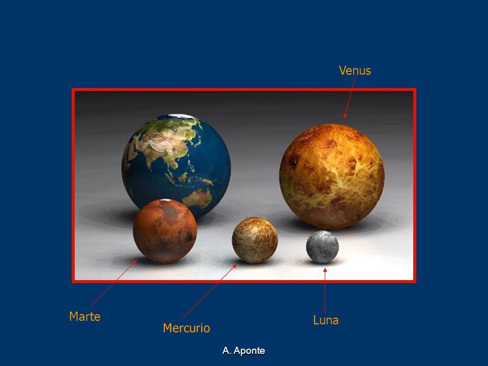 A. Aponte Venus Marte Mercurio Luna