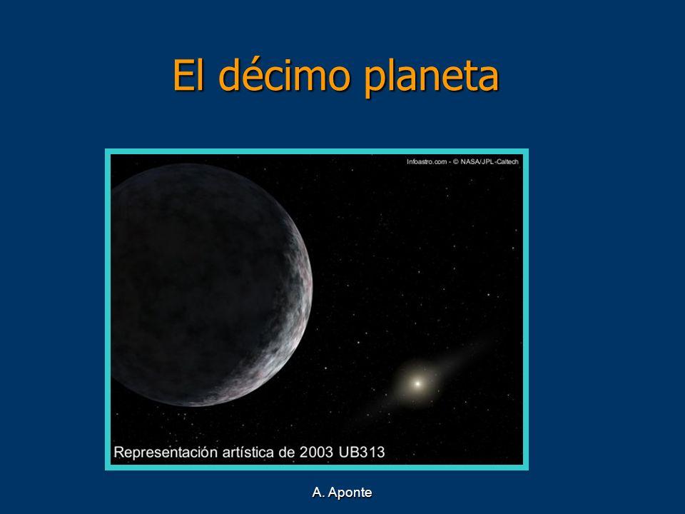 A. Aponte El décimo planeta El décimo planeta