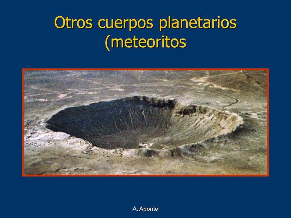 A. Aponte Otros cuerpos planetarios (meteoritos