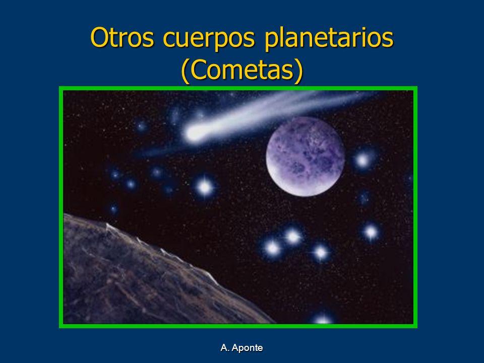 A. Aponte Otros cuerpos planetarios (Cometas)