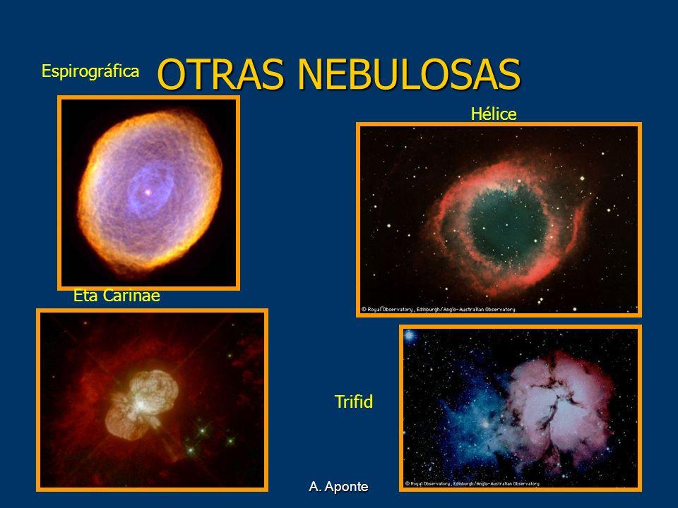 OTRAS NEBULOSAS Espirográfica Eta Carinae Hélice Trifid