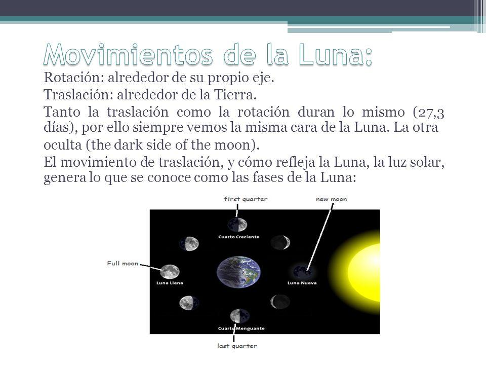 Eclipses: se alinean el Sol, la Tierra y la Luna.