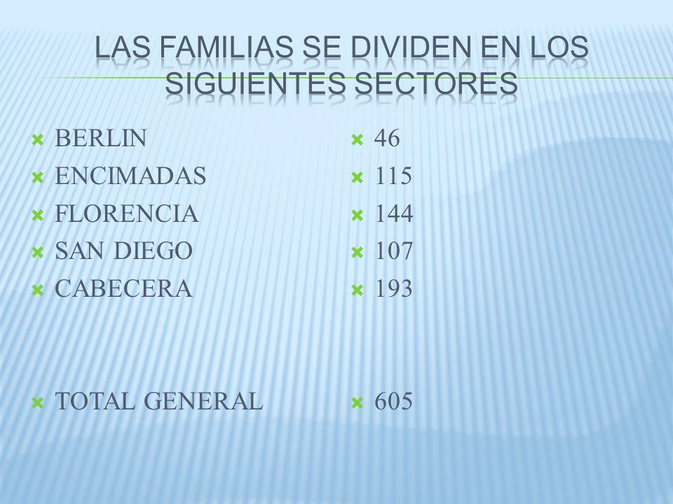 TOTAL DE FAMILIAS QUE RECIBIERON EL INCENTIVO 423 TOTAL DE FAMILIAS QUE NO RECIBIERON EL INCENTIVO 182