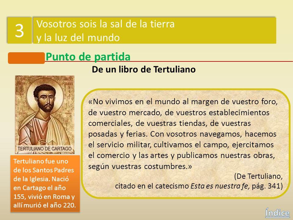 «Para decirlo brevemente, lo que es el alma en el cuerpo, eso son los cristianos en el mundo. El alma está esparcida por todos los miembros del cuerpo
