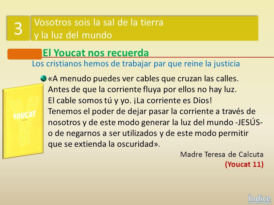 El Youcat nos recuerda ¿Qué importancia tienen los pobres para los cristianos? El amor a los pobres debe ser en todos los tiempos el distintivo de los