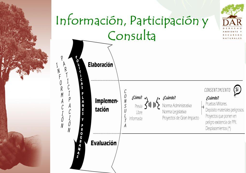 Información, Participación y Consulta