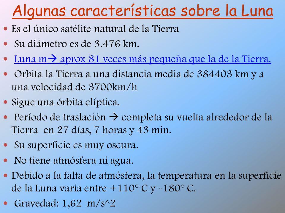 La atracción gravitacional de la Luna y la del Sol son causantes de las mareas.