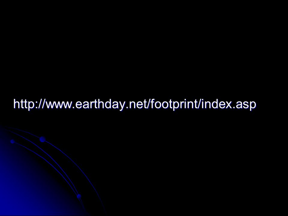 http://www.earthday.net/footprint/index.asp