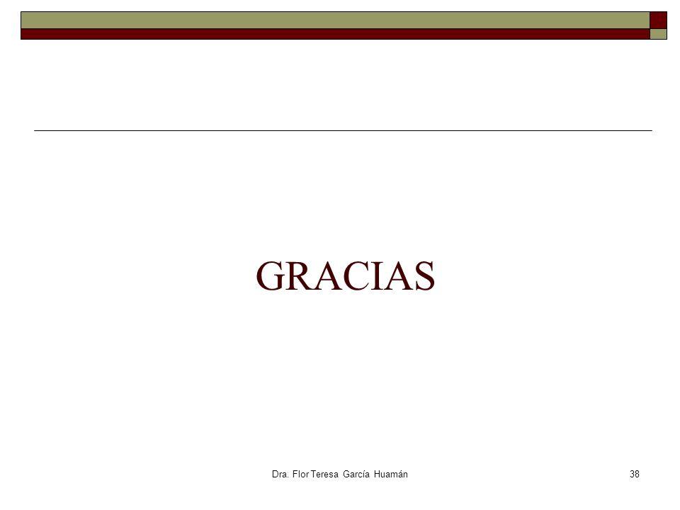Dra. Flor Teresa García Huamán GRACIAS 38