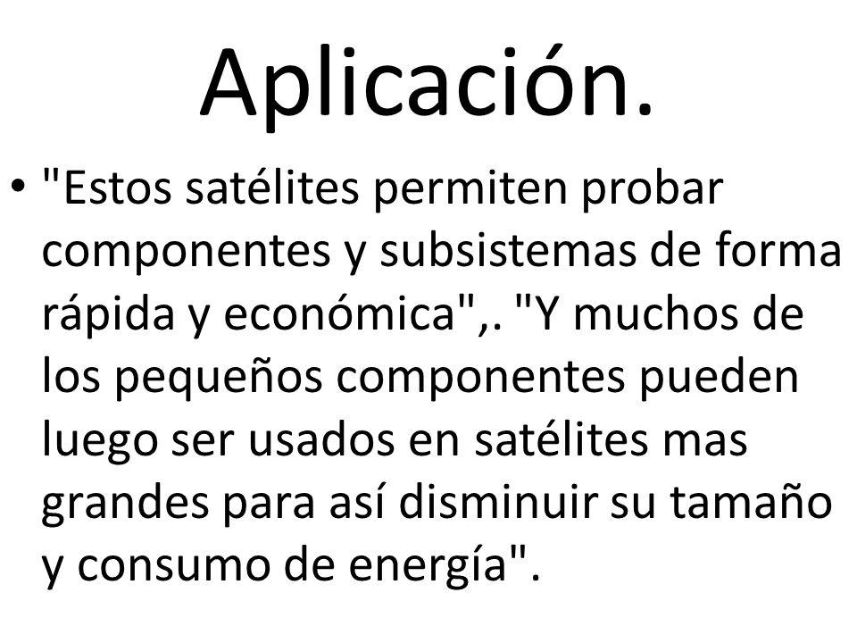 Aplicación.