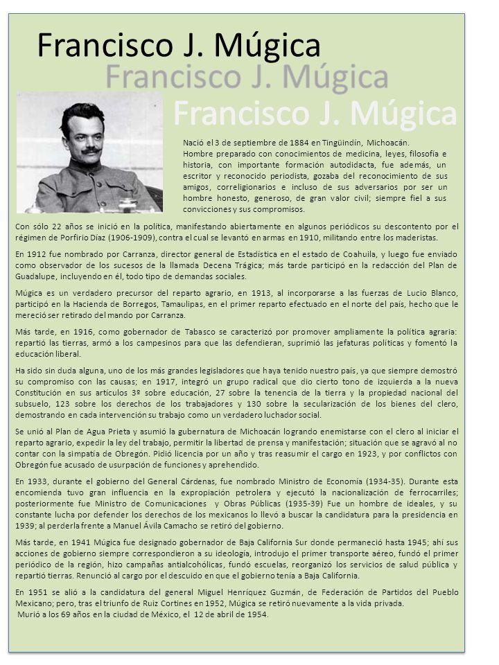 Con sólo 22 años se inició en la política, manifestando abiertamente en algunos periódicos su descontento por el régimen de Porfirio Díaz (1906-1909), contra el cual se levantó en armas en 1910, militando entre los maderistas.