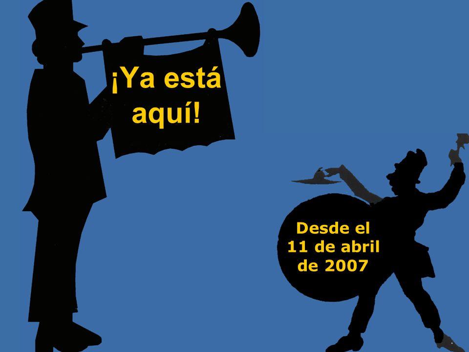 www.elmanifiesto.com ¡Ya está aquí! Desde el 11 de abril de 2007