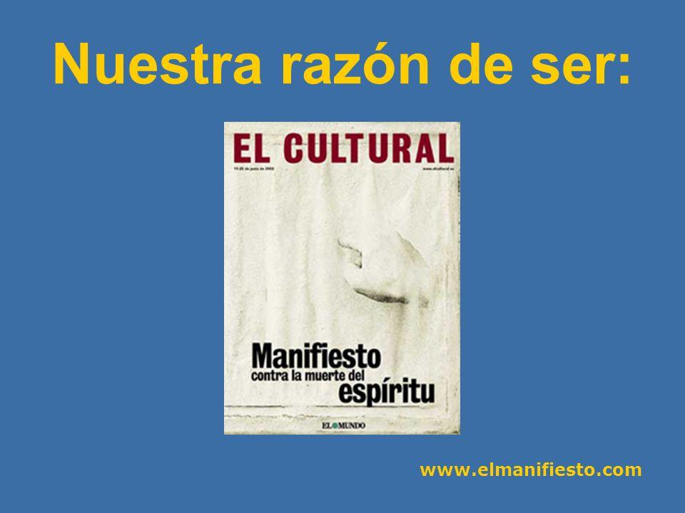 www.elmanifiesto.com - Editor: Javier Ruiz Portella - Director: José Javier Esparza