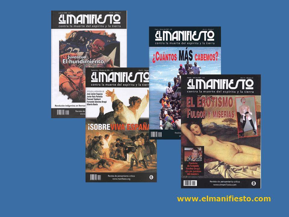 www.elmanifiesto.com N.º 4 - Salvar la Tierra.