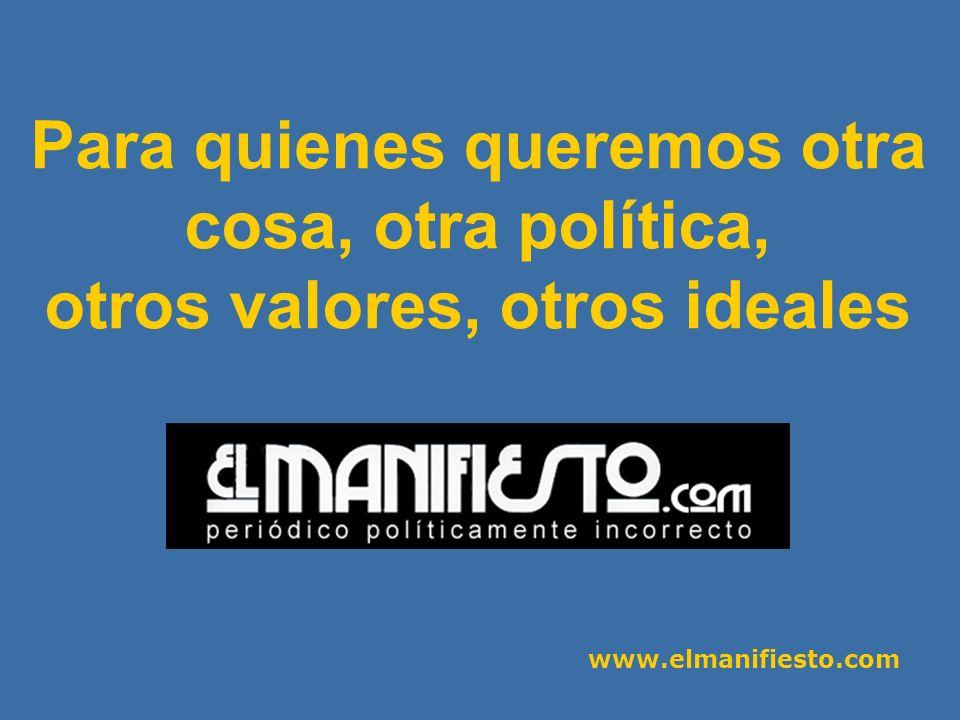 www.elmanifiesto.com N.º 3 - Muere la Historia.