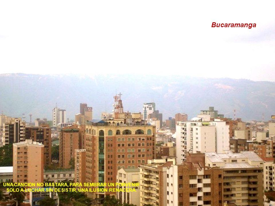 Bucaramanga UNA CANCION NO BASTARA, PARA SEMBRAR UN PORVENIR SOLO A LUCHAR SIN DESISTIR, UNA ILUSION RENACERA.