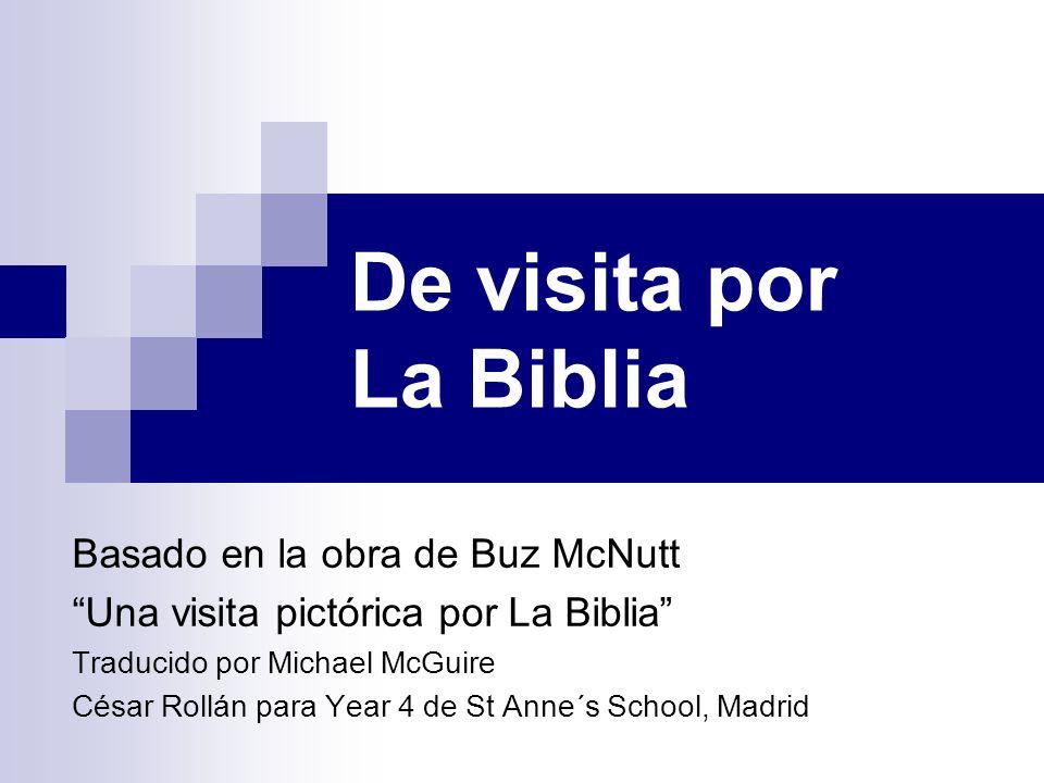 De visita por La Biblia Basado en la obra de Buz McNutt Una visita pictórica por La Biblia Traducido por Michael McGuire César Rollán para Year 4 de S