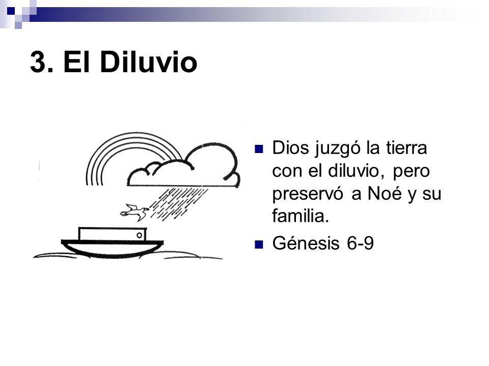 4. La Torre de Babel Dios dispersó al pueblo y creó nuevos lenguajes. Génesis 10 y 11