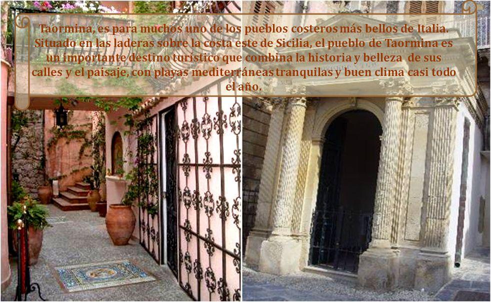 TAORMINA es sin lugar a dudas una de las joyas sicilianas. Bien es cierto que la sobreexplotación turística ha derivado en una aglomeración de curioso
