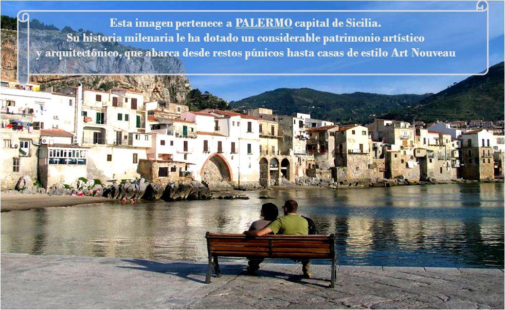 Esta imagen pertenece a PALERMO capital de Sicilia.