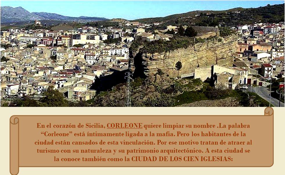 En el corazón de Sicilia, CORLEONE quiere limpiar su nombre.La palabra Corleone está íntimamente ligada a la mafia.